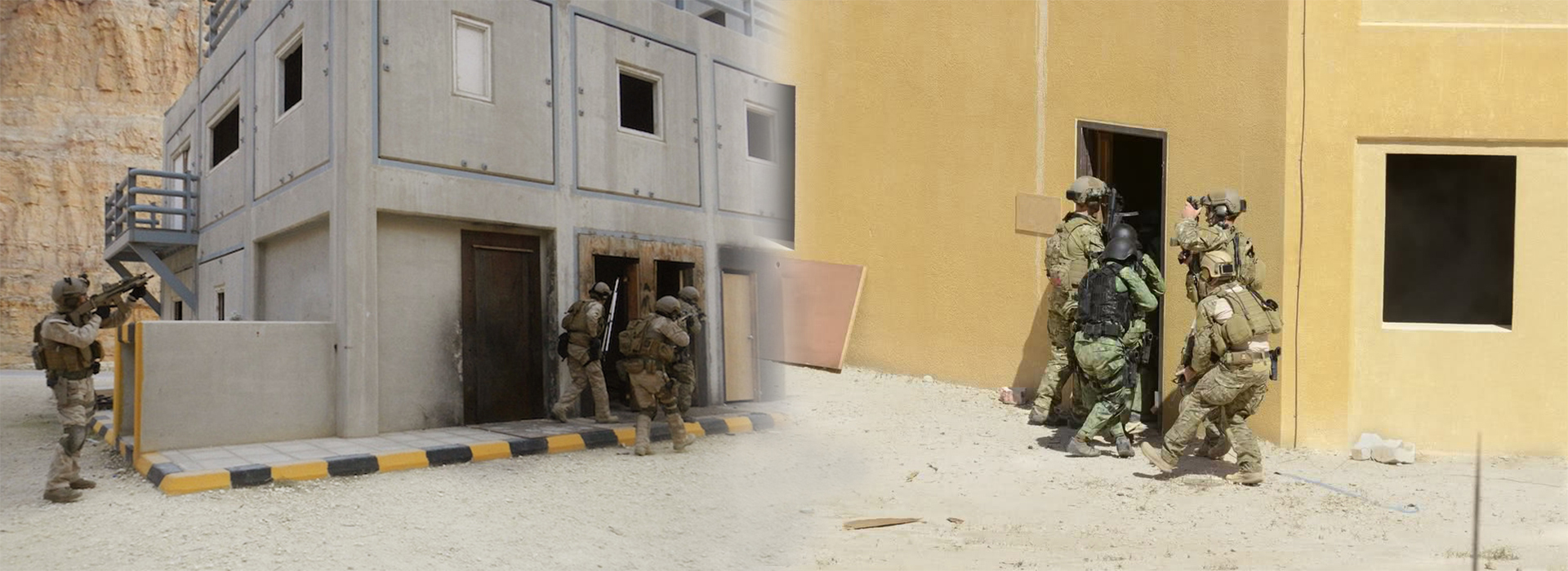 Military Operation on Urban Terrain Live Training