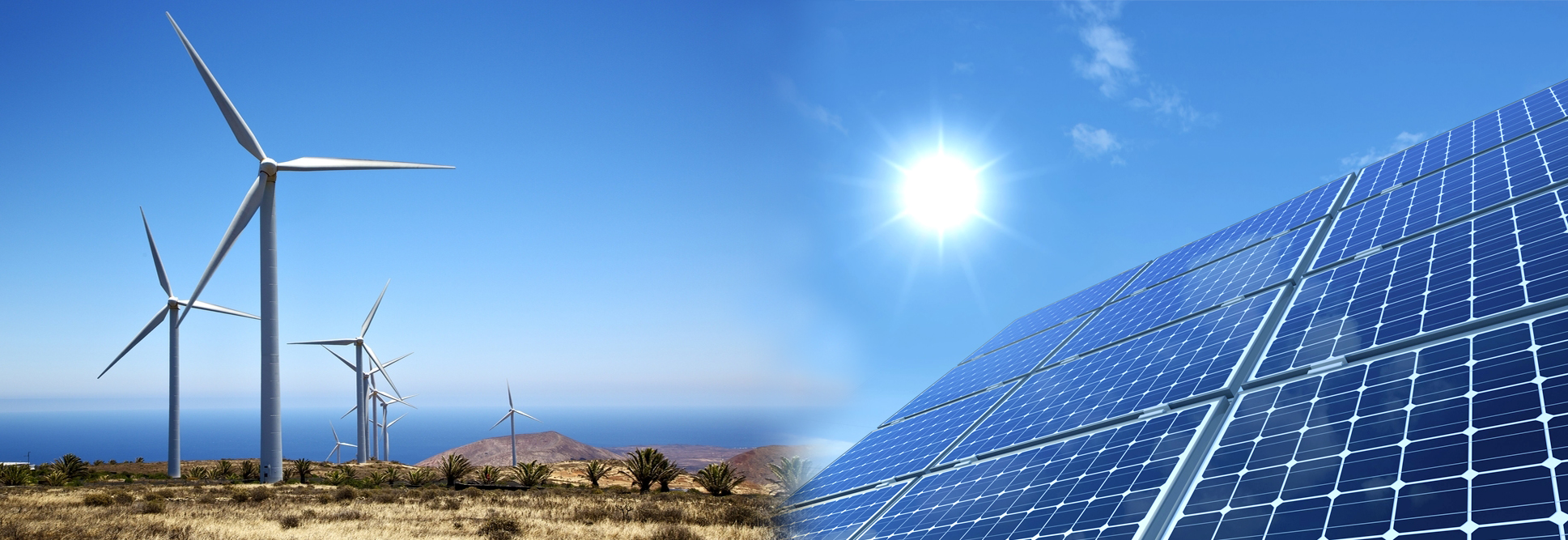 Sustainable Solar and Wind Energy for Generating Electrical Power and Protecting the Environment